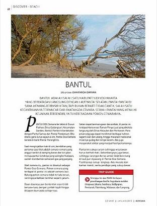 Bantul Sriwijaya In flight Magazine