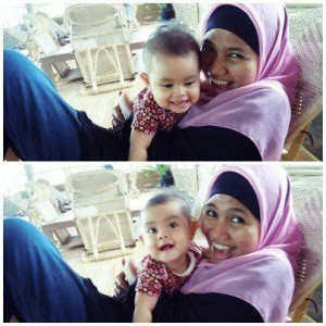 Najla in action