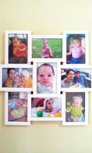 Najla 1'st Birthday gift dari khala Iva
