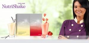 Farah Queen sebagai Brand Ambassador Nutrishake