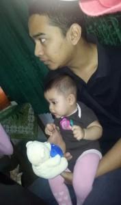 Ayah Najla ikut kelas edukasi AIMI