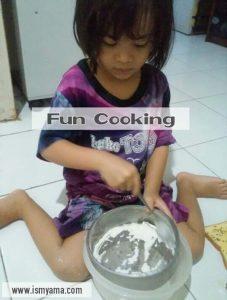 cookies homemade bersama anak
