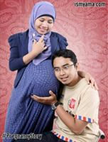 Foto session mengabadikan kehamilan
