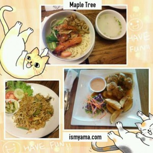 maple tree kuliner kekinian