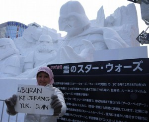 I'll be there Nisa! Sapporo Snow Festival