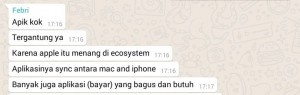 Testimoni pengguna iPhone 6