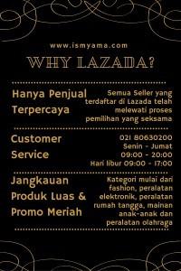 Mengapa jatuh cinta pada Lazada?