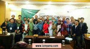 Bersama teman-teman pemilik UMKM di Jogja