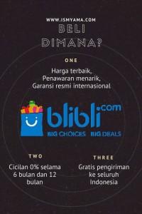 mengapa beli di blibli.com www.ismyama.com