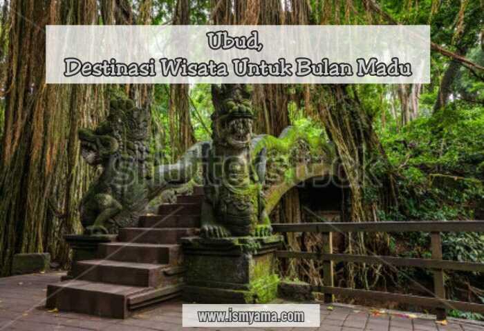 Dragon Bridge in Sacred Monkey Forest Sanctuary, Ubud, Bali, Indonesia
