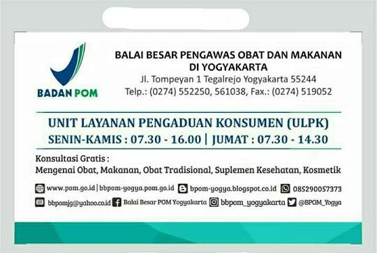 layanan publik BPOM