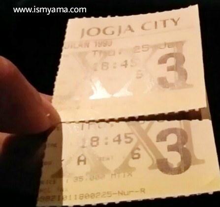 Tiket film Dilan