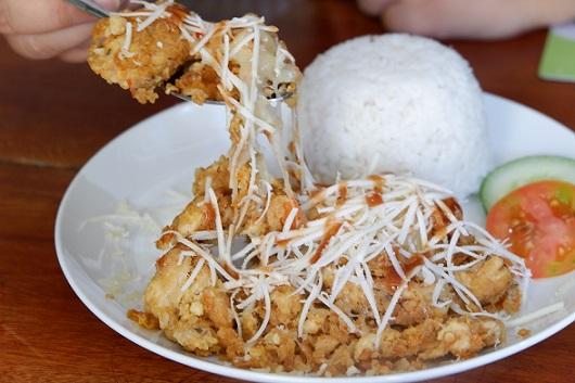 Ayam geprek keju Combi