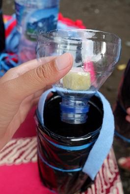 botol bekas untuk hidroponik