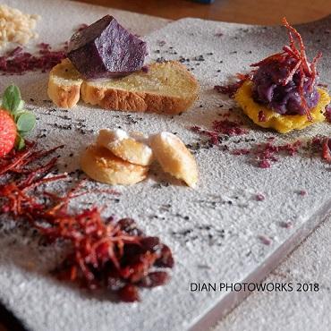 cream sweet potato purple