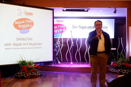 head of communication danone indonesia