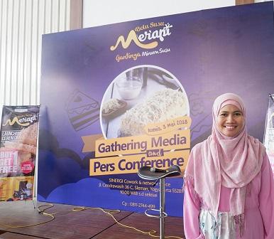 media gathering bolu susu merapi