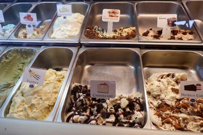 nutella cake ciao gelato
