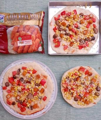 pizza siap oven