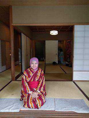 kimono jepang