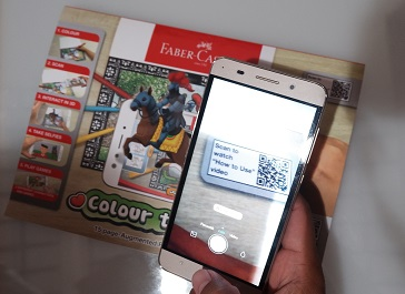 scan barcode colour to life