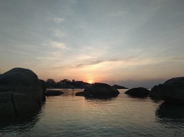 senja Pantai Tanjung Tinggi