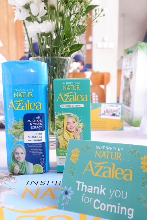 azalea hair hijab body mist