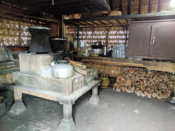 dapur desa panglipuran