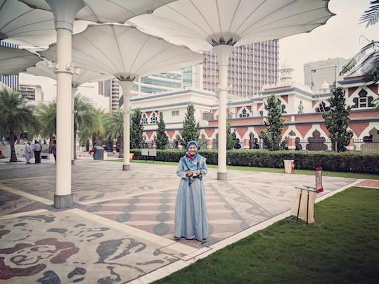 payung masjid jamek