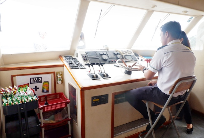 kapten kapal pesiar putrajaya