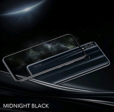 honor 10 lite midnight black