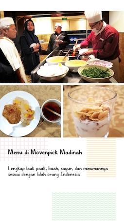 restoran movenpick madinah
