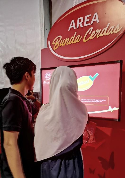 Festival Bunda Generasi Maju area bunda cerdas