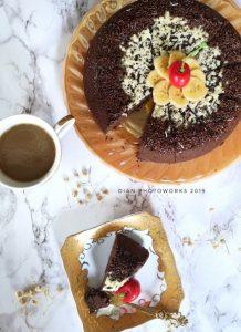 brownies kukus cokelat rice cooker