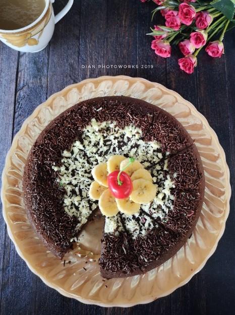 brownies kukus tanpa mixer anti gagal