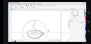 belajar desain logo kopi