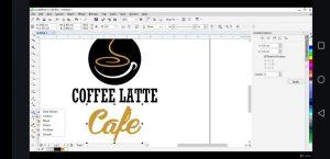 desain logo kafe