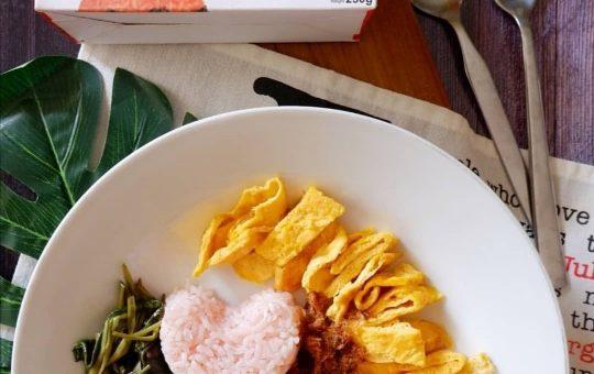 resep nasi uduk pewarna alami