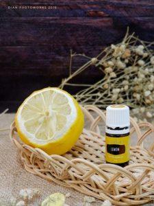 Young Living Essensial Oil lemon