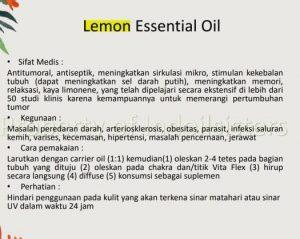 manfaat aromaterapi lemon