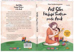 Cover buku anti stres hadapi tantrum pada anak
