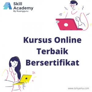 Kursus online terbaik bersertifikat