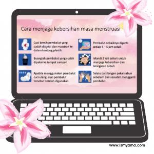Menjaga kebersihan saat menstruasi